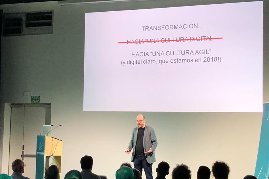 Jordi Serrano - Cultura Ágil