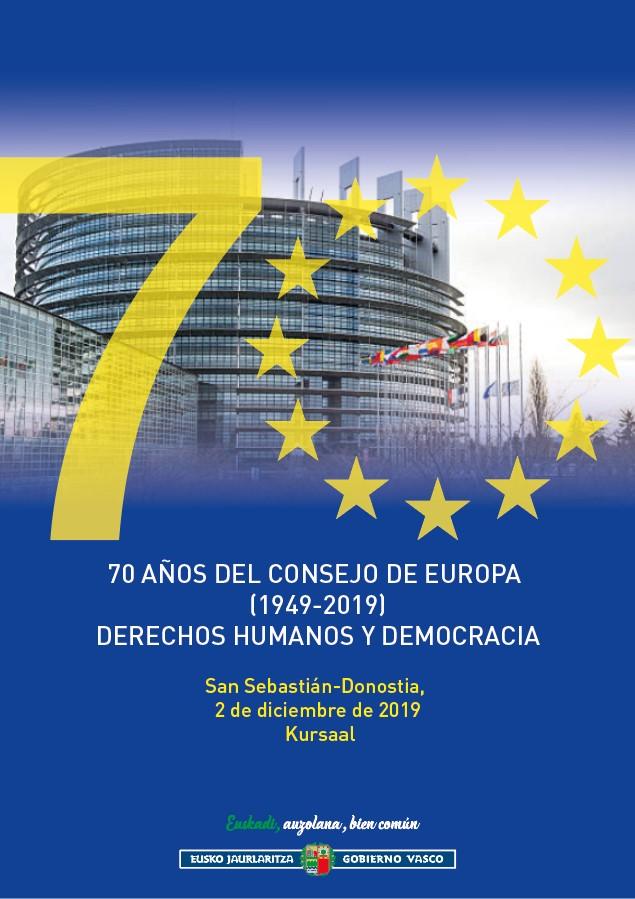 Europako Kontseiluaren 70. urteurrena: Giza Eskubideak eta Demokrazia