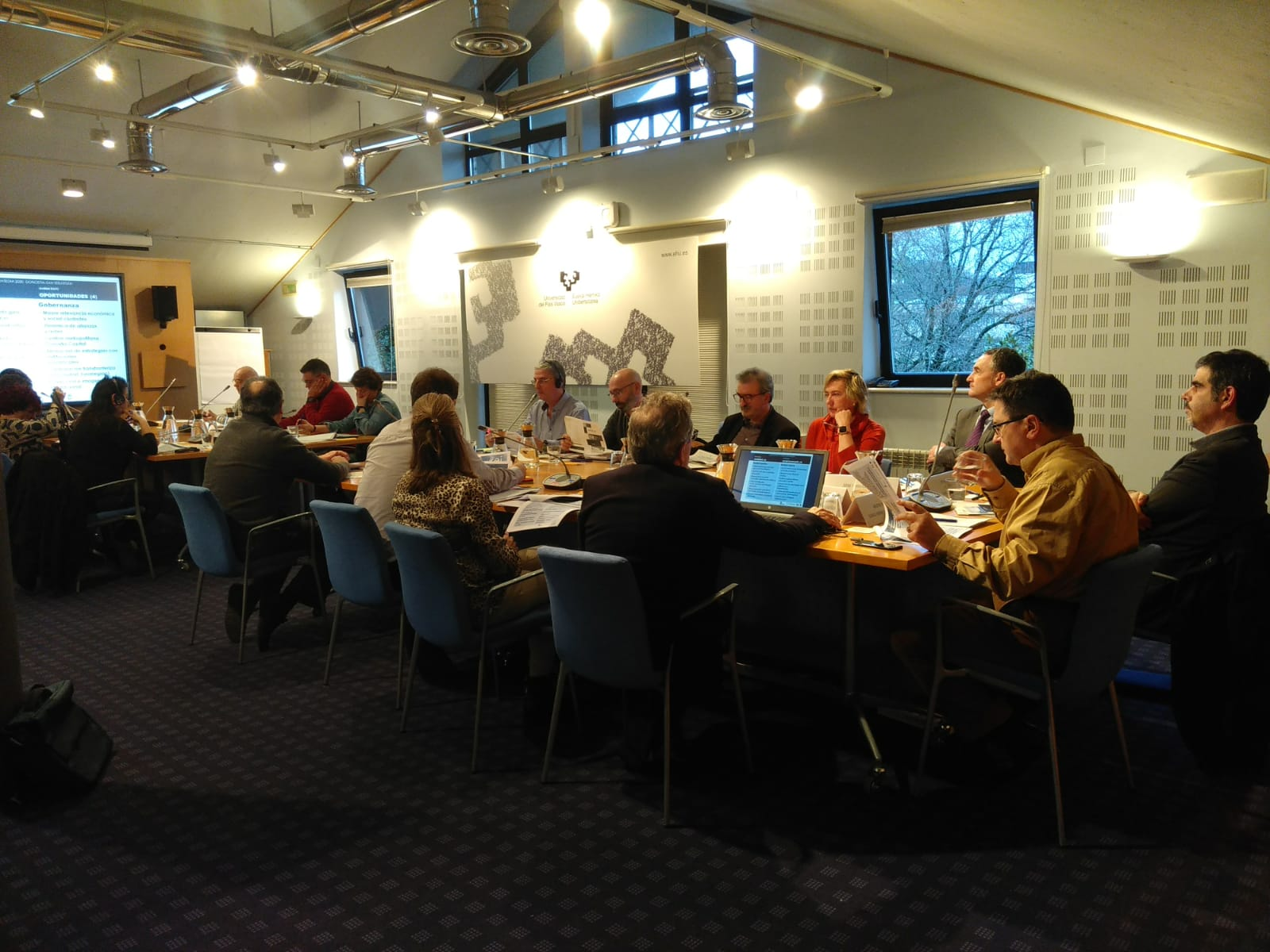 Reunión de la Comisión de Trabajo para el Plan Estratégico