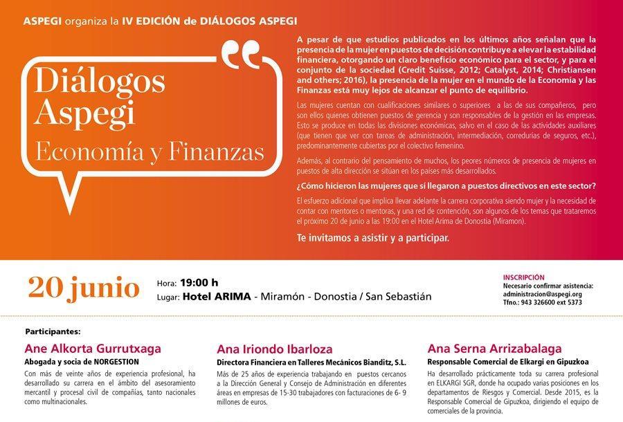 Diálogos ASPEGI – Economía y Finanzas