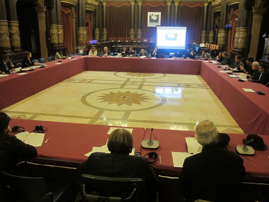 Consejo Social de la ciudad. Sesión plenaria.