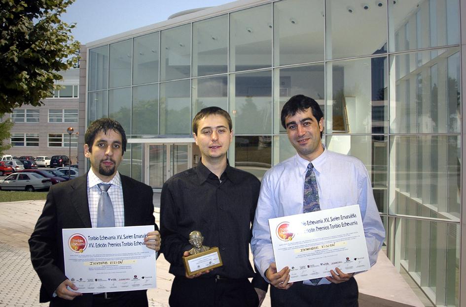 Mikel Pajares, Pablo Ayala y David Vicente