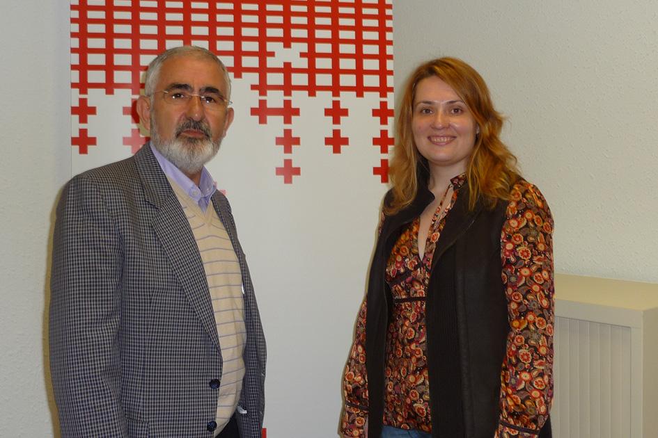 José Antonio Fernández y Maider González