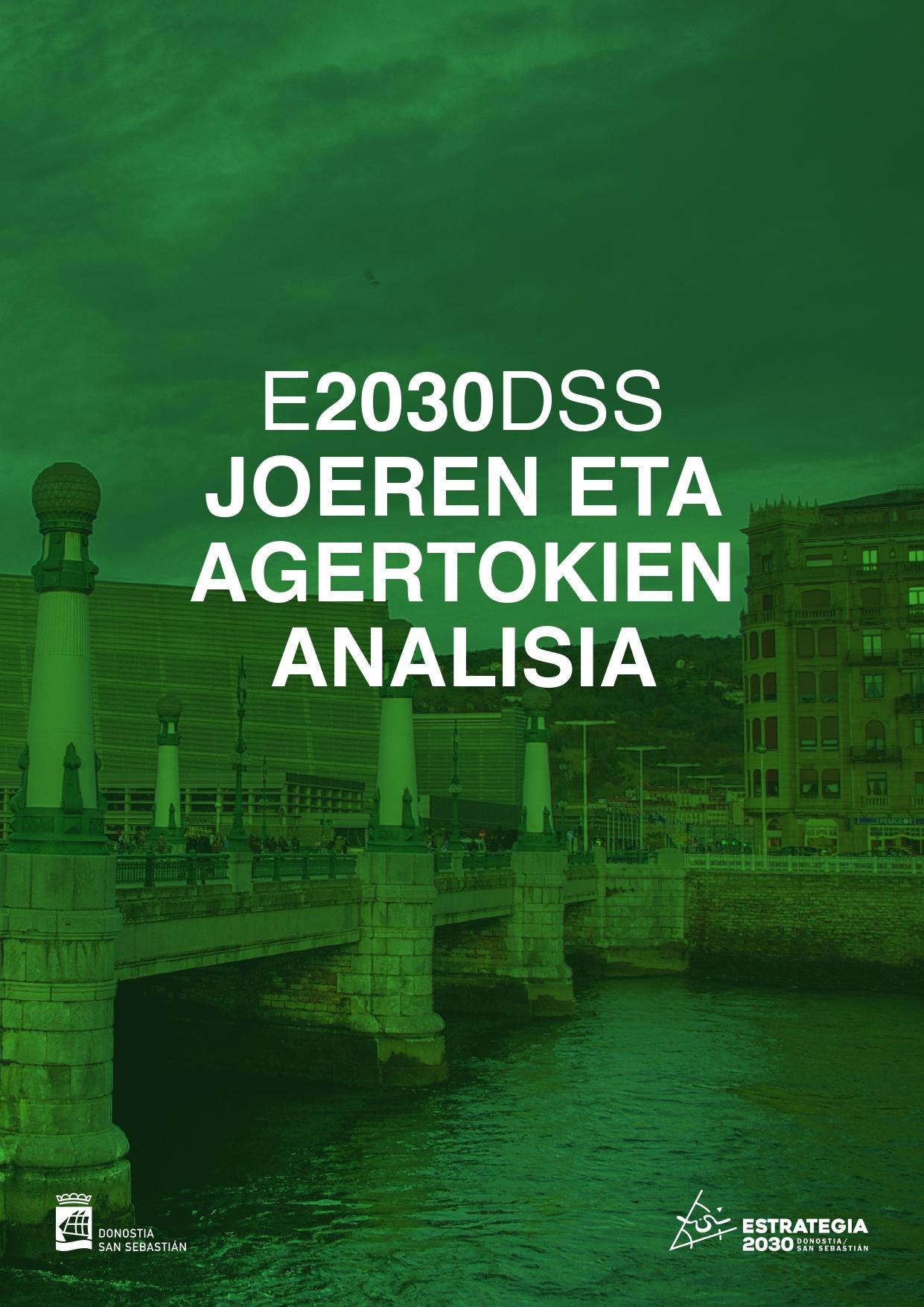 E2030DSS Joeren eta agertokien analisia