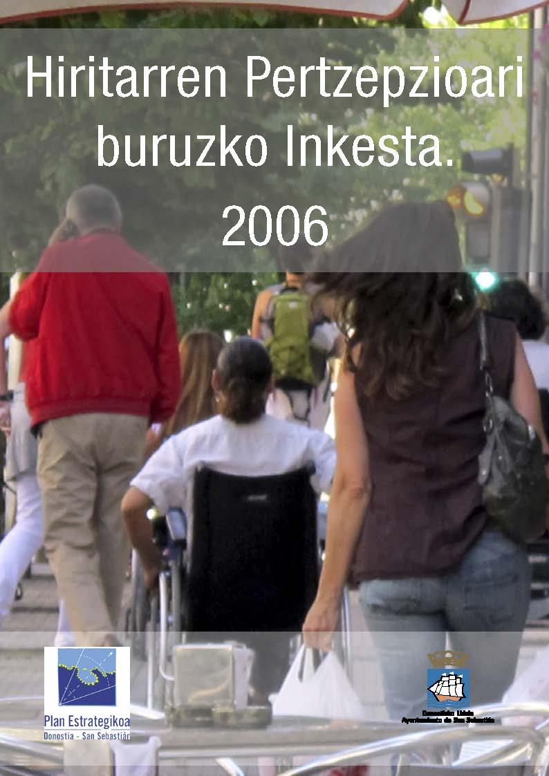 Herritarren pertzepzioari buruzko inkesta 2006