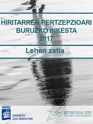 Hiritarren Pertzepzioari buruzko Inkesta 2017. Lehen zatia