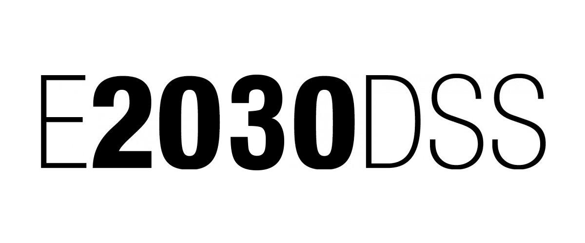 E2030DSS Plan Estrategikoaren logoa