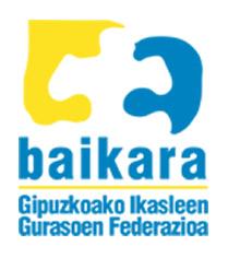 AMPAS-BAIKARA. Asociación de madres y padres de alumnos/as de GIPUZKOA