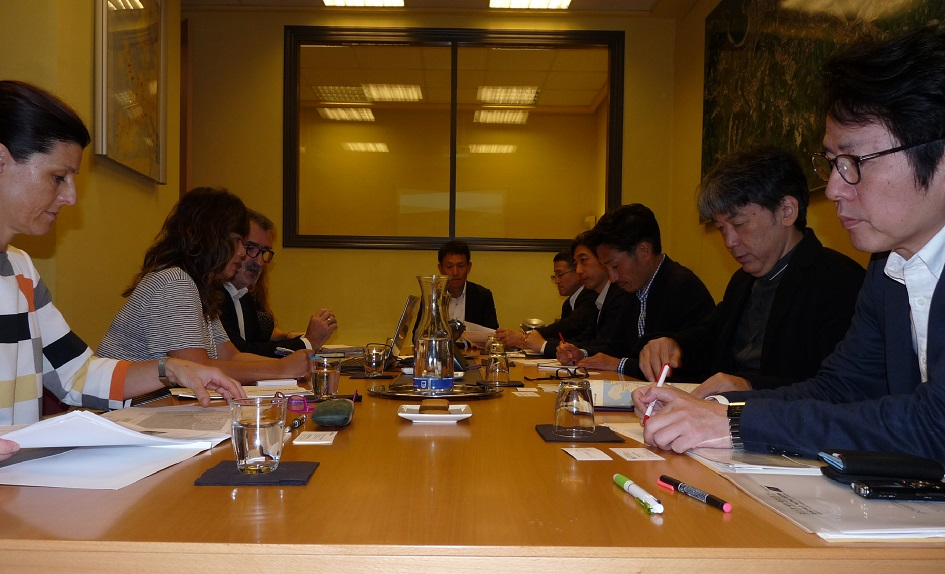 Momento de la reunión