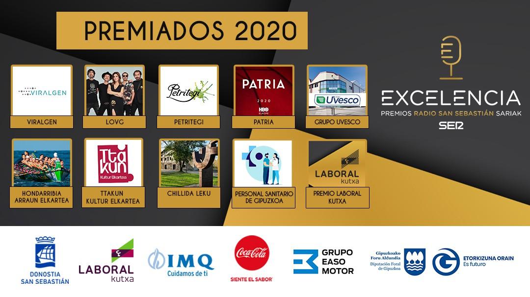 Premios Radio San Sebastián a la Excelencia