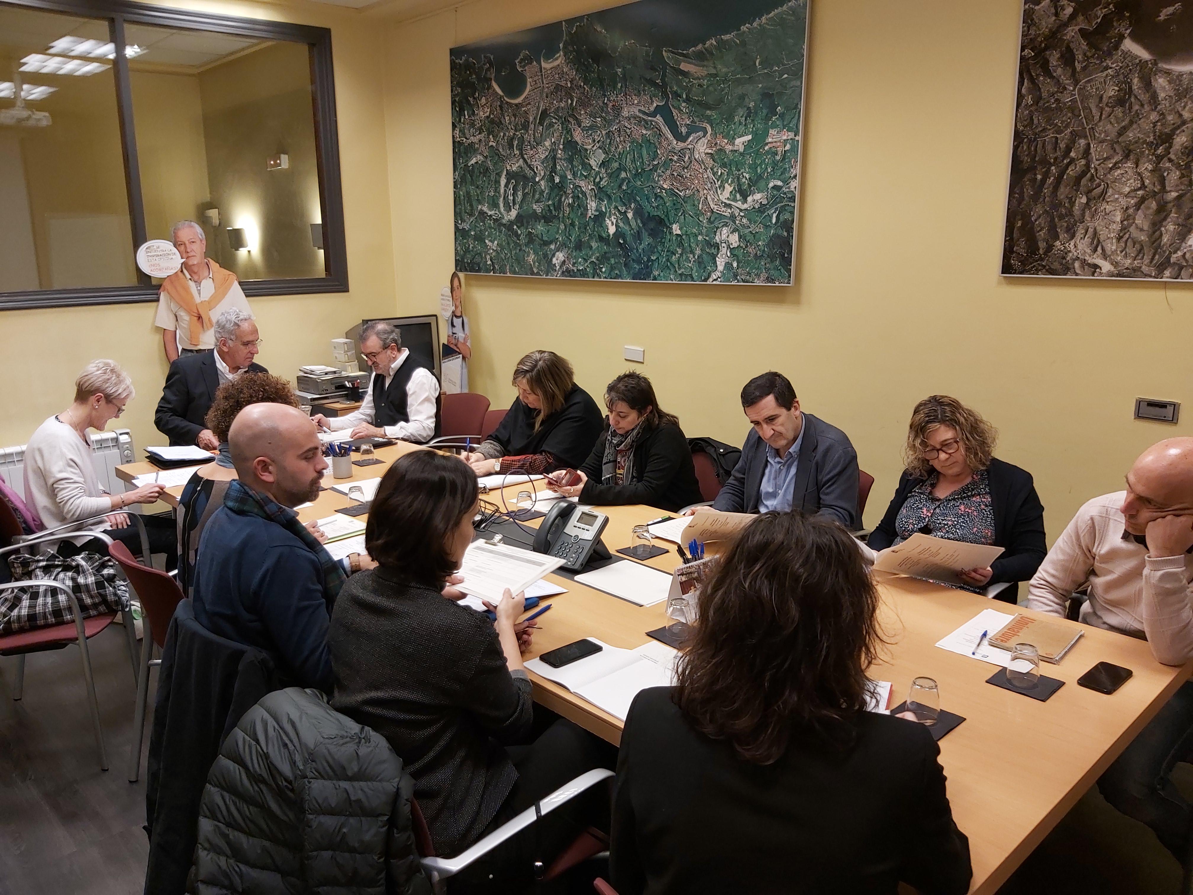 Reunión de la Comisión Permanente del Consejo Social