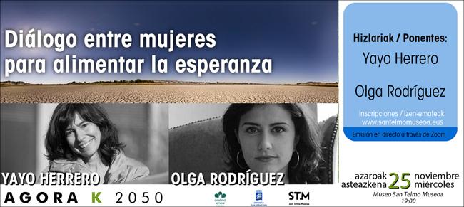 Agora K2050: Diálogo entre mujeres para alimentar la esperanza