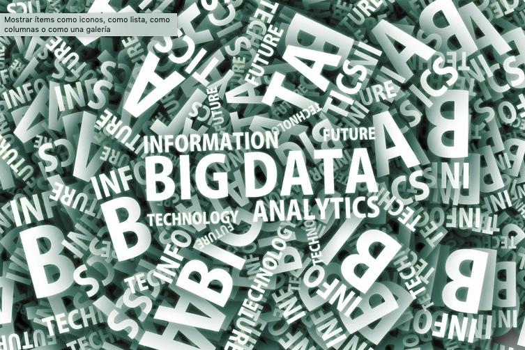 Charla. La dimensión social del Big Data