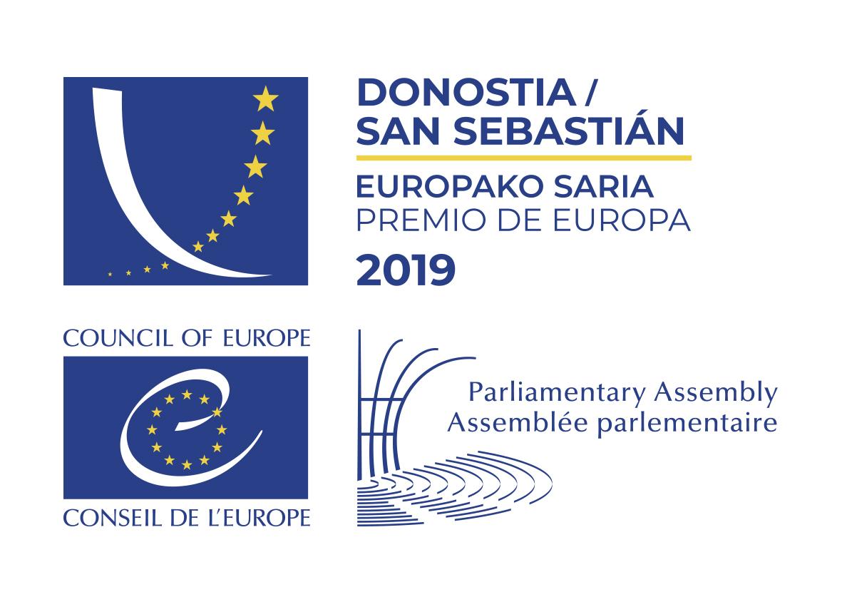 2019ko Europako Saria emateko ekitaldia
