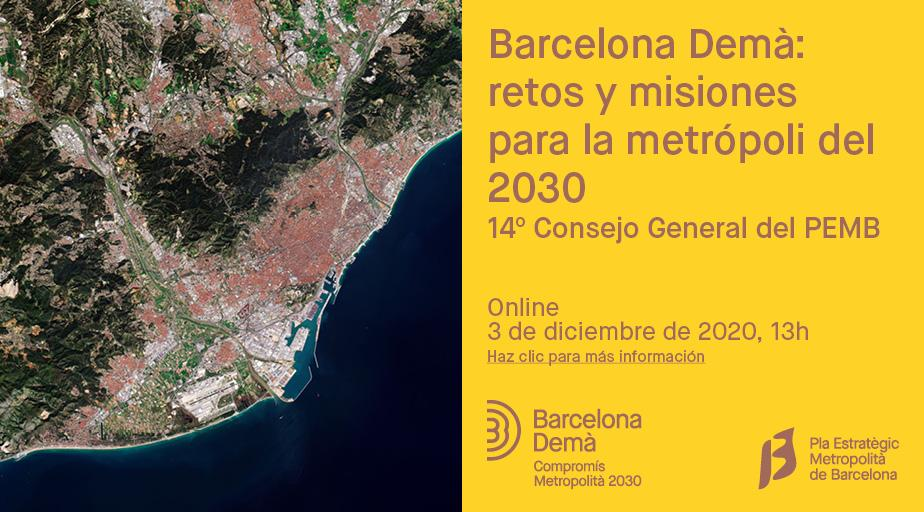 Bartzelona Demà: 2030eko metropoliarentzat erronkak eta misioak