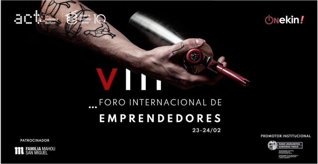 VIII Edición del Foro Internacional de Emprendedores de Culinary Action