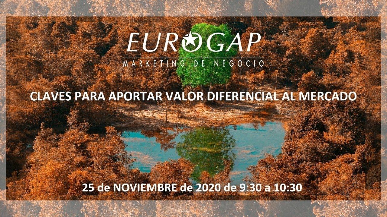 EUROGAP marketin online topaketa: merkatuari balio bereizgarria emateko gakoak