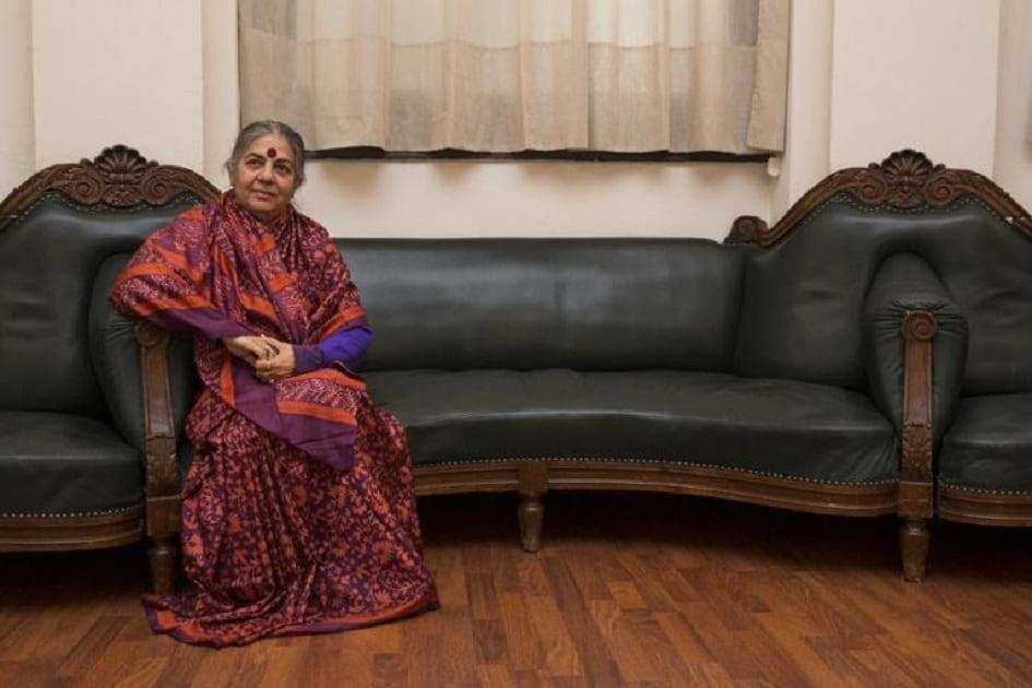 Hitzaldia: Vandana Shiva Klima-aldaketaren erronkei buruz