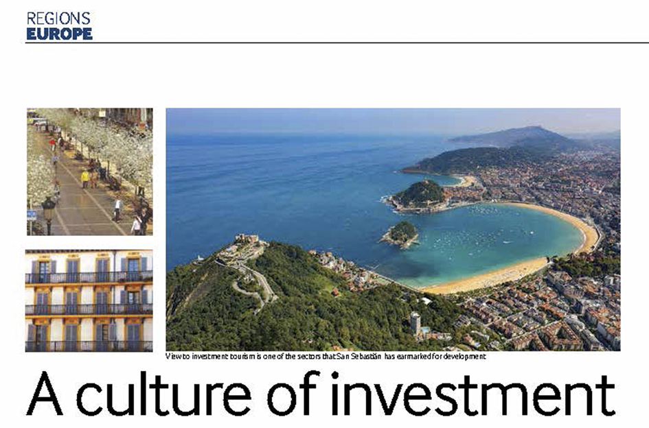 San Sebastián looks to cash in on a culture of investment