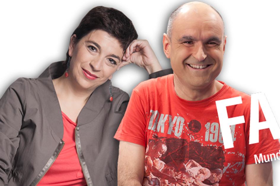 Entrevista a Kepa Korta y Axier Jaka en el programa FAKTORIA UDA