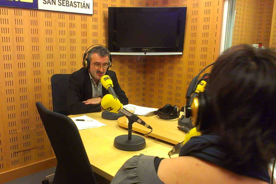 Kepa Kortari elkarrizketa, Radio San Sebastián irratian