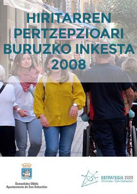 Hiritarren Pertzepzioari buruzko Inkesta 2008
