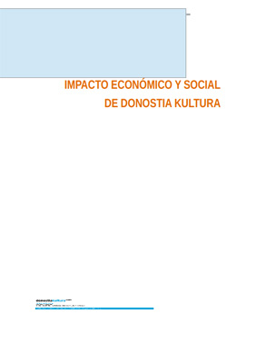 Donostia Kultura economic and social impact study.  Summary