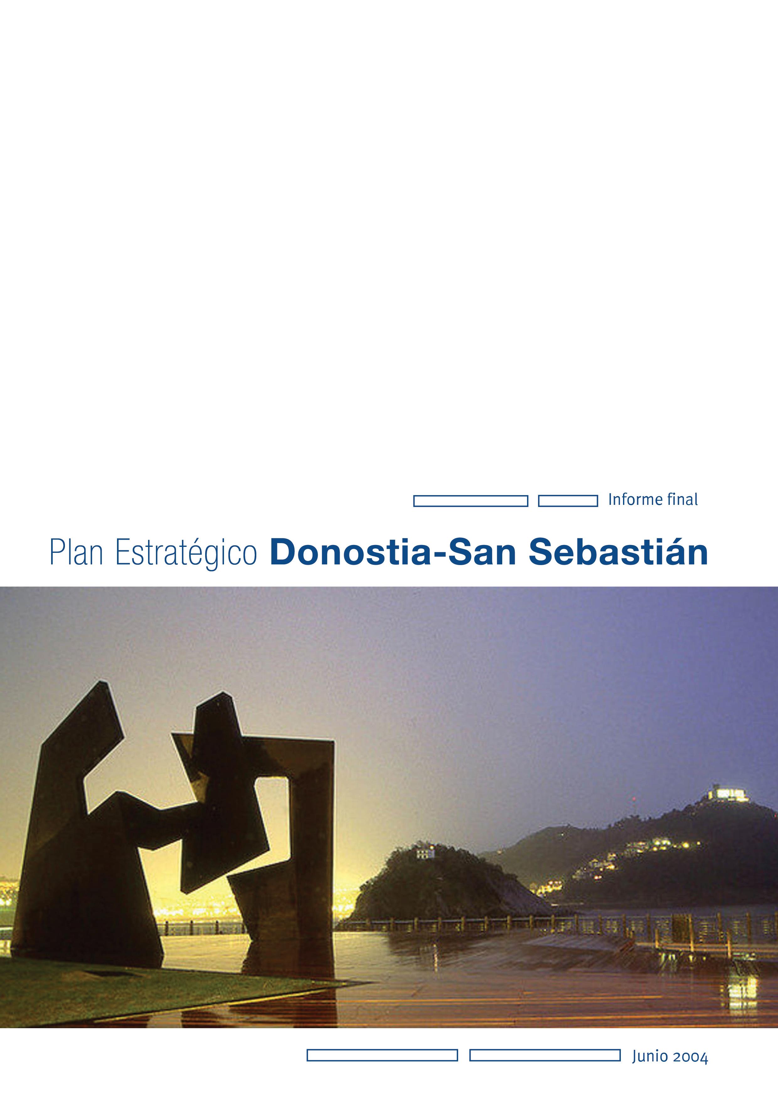 Plan Estratégico de Donostia/San Sebastián 2010. Documento final
